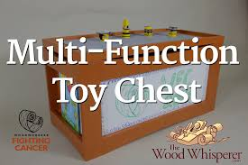 Plans To Build Toy Box by 231 Multi Function Toy Chest Youtube