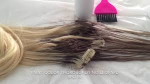 type of hair extensions how to root and lowlight any type of hair extension