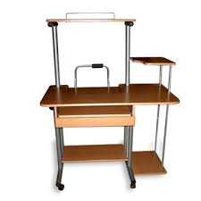 Laptop Desk With Printer Shelf China Durable Computer Desk With Shelves For Printer And