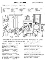 good picture for prepositions activities spanish learning