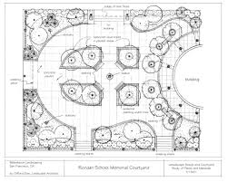 fine landscape architecture plan drawing architectural ideal in design
