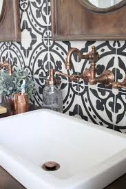 Black And White Bathroom Decor Ideas Best 10 Black Tile Bathrooms Ideas On Pinterest White Tile