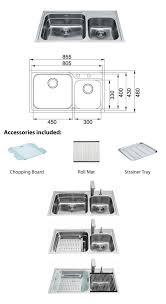 franke sink accessories chopping board benton s finer bathrooms franke karst 1 75 bowl sink