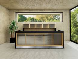 Contemporary Reception Desk Madison Modern Reception Desk 90 Degrees Office Concepts 90