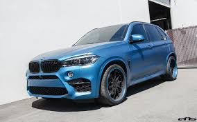 Bmw X5 Custom - this matte blue bmw x5 m goes to the tuning shop