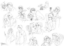 fanart couples sketches by palnk on deviantart