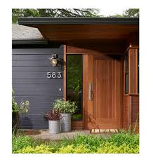 Interior Doorbell Cover Mid Century Square Doorbell Button Solid Brass Rejuvenation