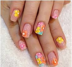 there are many different designs and nails that can only create