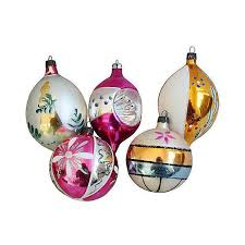 decorated european ornaments w box set of 12