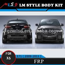 bmw x6 kit high quality fitment lm style car covers for bmw x6