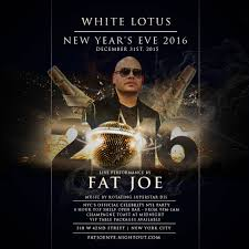 new years eve 2016 at white lotus live performance by fat joe