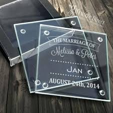 wedding coasters coasters for wedding favors lyfy me