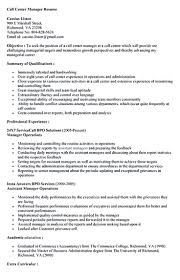 Objective To Resume Resume Objective For Call Center Resume For Your Job Application