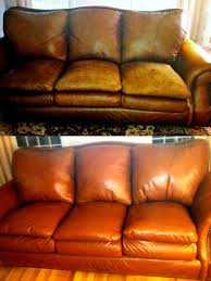 Leather Sofa Refinishing Home Furniture Blend It On Refinish And Restorer Kit