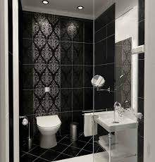 Black White Grey Bathroom Ideas by Small Black And White Bathrooms Best 25 Black White Bathrooms
