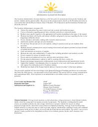 resume examples for administrative assistant sample resume school administrative assistant frizzigame 10 sample administrative assistant resume free sample resumes