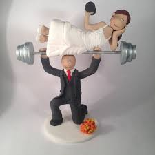 weight lifting cake topper hobby interest cake toppers totally toppers