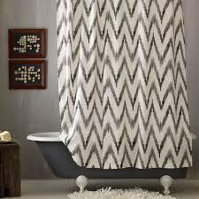 Geometric Burnout Shower Curtain Tan Geometric Shower Curtain Natural Bathroom Ideas