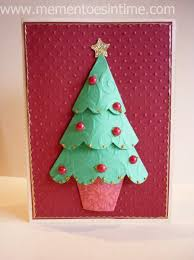 3d christmas cards christmas cards and cardmaking ideas mementoes in time