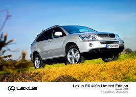 lexus rx 400h technical specifications new for 09 lexus rx 400h limited editions lexus uk media site