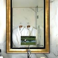 bathroom mirror cost tv in bathroom mirror cost full image for electric mirror