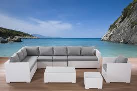 White Lounge Chair Outdoor Design Ideas Outdoor Conversation Set White Wicker Furniture In Outdoor