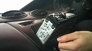 ford focus radio installation youtube