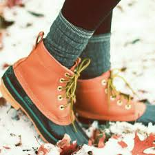 womens ll bean boots size 11 63 l l bean boots duck boots brown navy bean boots style