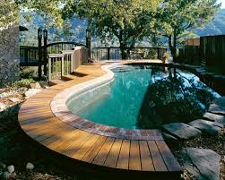 Diy Backyard Pool by Round Pool Deck On The Yard Pool Deck Decorating Ideas For With