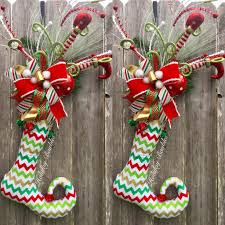 elf stocking by holiday baubles trendy tree custom designer