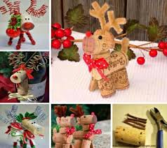 wine cork reindeer ideas the whoot