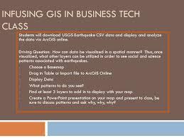 gis class online geotech 2013 summer workshop stitt helix charter hs gis