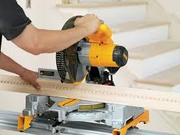 Cutting Laminate Flooring With Miter Saw Dewalt Dw713 10 Inch Compound Miter Saw Amazon Ca Tools U0026 Home