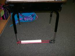 Sensory Seat Cushion Sensory Aid Slide A Pvc Pipe Over Bungi Cord And Attach To Desk