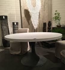 Aluminum Dining Room Chairs Cast Concrete And Aluminum Dining Table Mecox Gardens