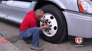 truck hub kenworth trucks how to install a front hub cap for steel wheel youtube