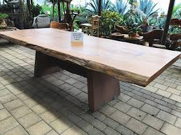 live edge outdoor table live edge wood slabs in keller texas home decor shop in keller