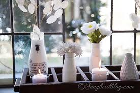 Christmas Decorations For Window Sills by Easy And Fun Window Sill Decoration Songbird