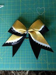 african american cheer hair bows black white and gold 3 inch large cheer bow 8 00 via etsy