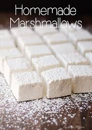 homemade marshmallows recipe homemade marshmallows