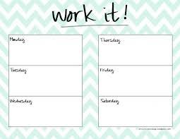 cute weekly planner template health pinterest planner