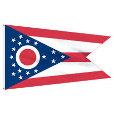 2x3 Flags Ohio 2ft X 3ft Nylon Flag With Pole Hem Only Banner