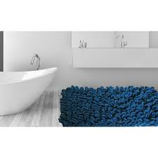Thick Bathroom Rugs Micro Chenille Thick And Loop Piles 21 Inch X 34 Inch Bath