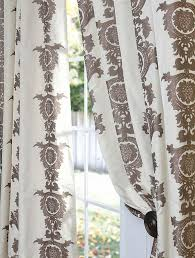 Cream Embroidered Curtains Frost Embroidered Ivory Curtains