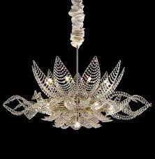 Pearl Chandelier Light Murano Glass Pearl Or Swarovski Crystal Chandelier Very Pretty