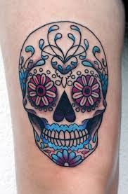 badass deadly skull tattoo designs for men 2015 best tattoos