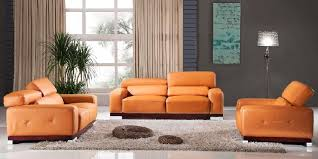Living Room With Orange Sofa Orange Sofa Set Model 2018 2019 Sofakoe Info