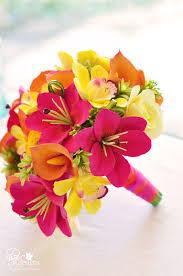 wedding flowers jamaica dk designs vibrant tropical destination wedding bouquet