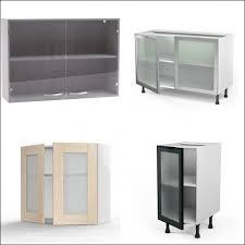 meuble haut vitré cuisine meuble haut gris cuisine avec porte vitree 2 abattants chaios com