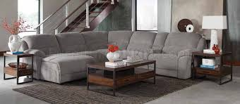 Motion Sectional Sofa Mackenzie 600017 6pc Motion Sectional Sofa In Fabric By Coaster